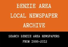 Benzie Area Local Newspaper Archive