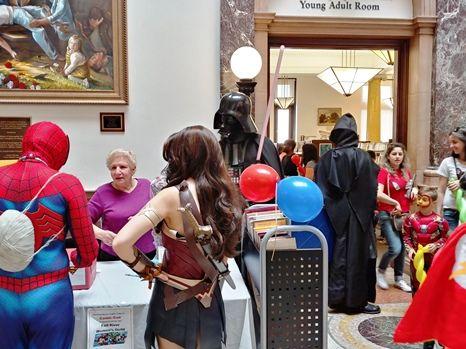 Library Comic-Con