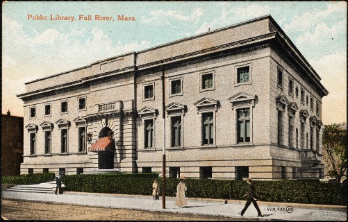 Fall River Library c. 1900