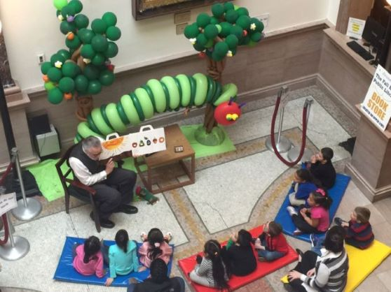 Hungry Caterpillar storytime