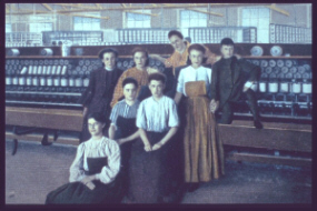 Fall River textile workers