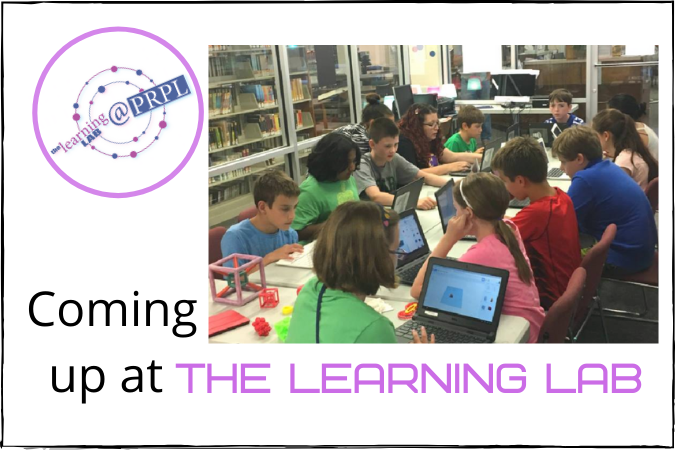 Coming up at the Learning Lab