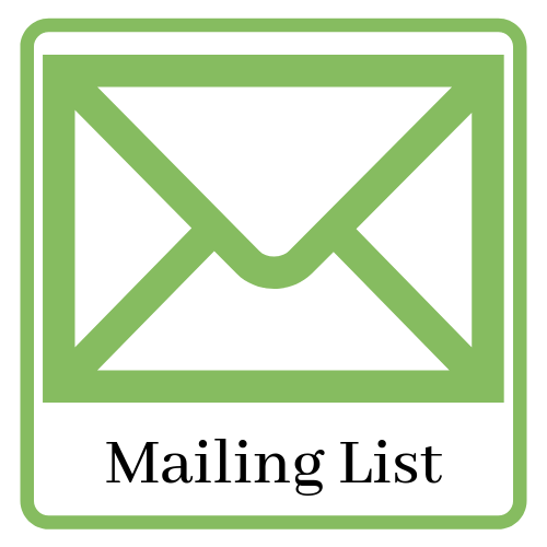 Icon and link to join the library mailing list.