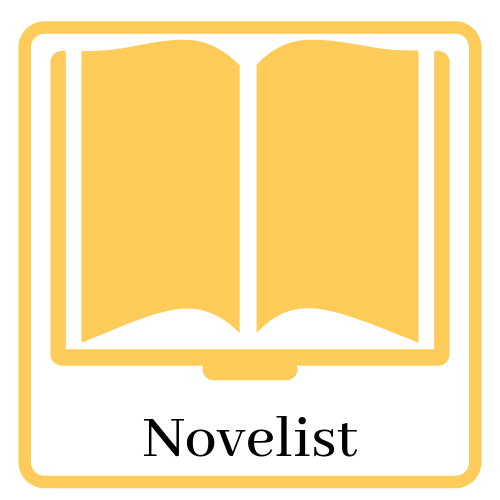 Link and icon for Novelist.