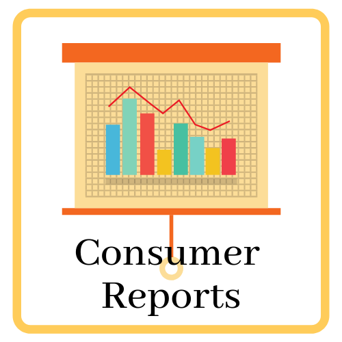 Link and icon for Consumer Reports online
