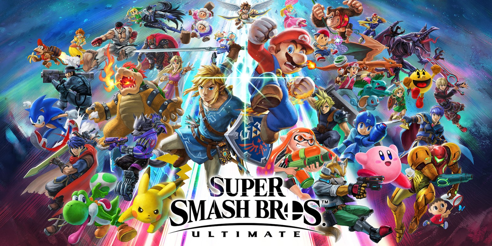 image of all super smash bros characters