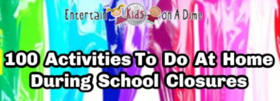 100 At Home Activities