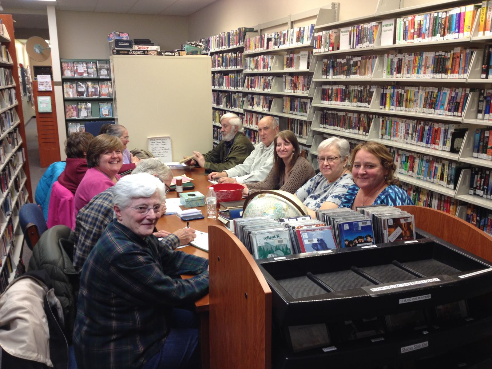 Picture of Genealogy Club Group