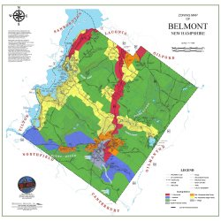 Map of Belmont