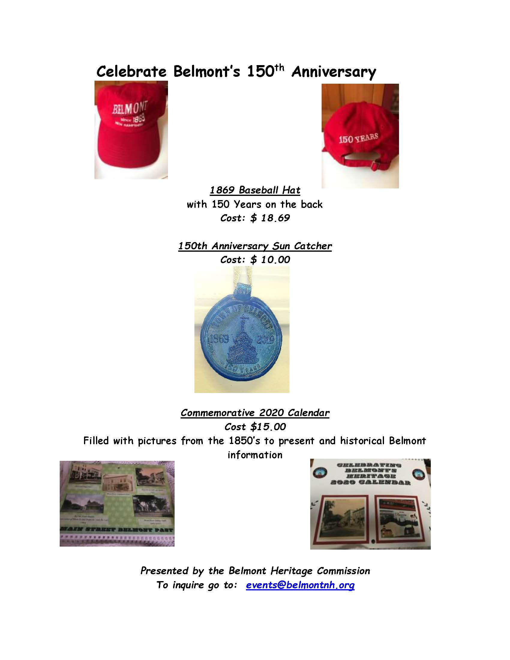 Images of Commemorative Items for Sale