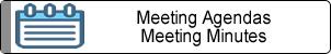 Meeting Agendas / Minutes