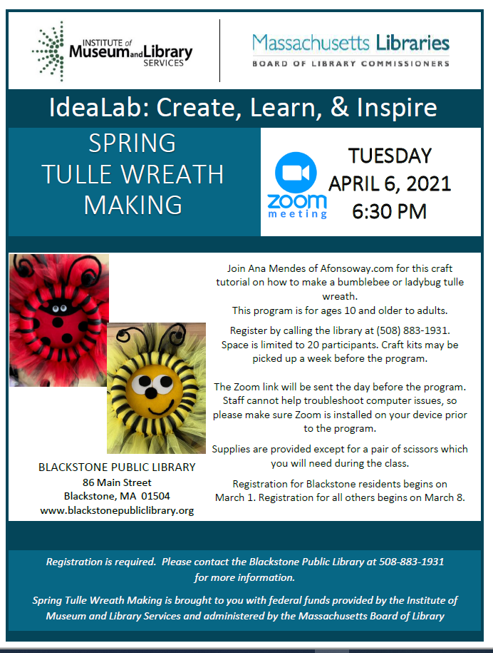 Free Spring Tulle Wreath Workshop