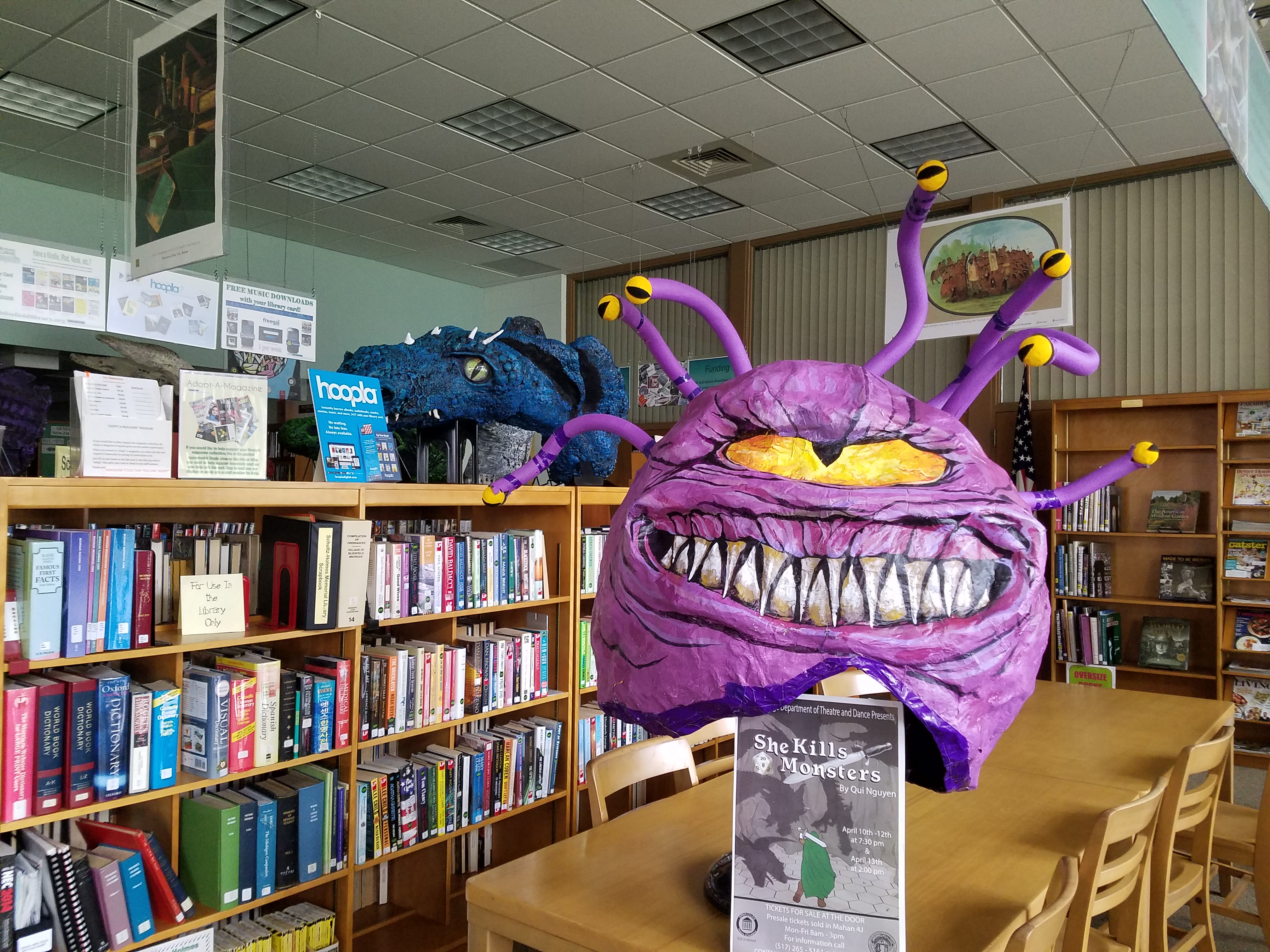 picture of the Beholder puppet