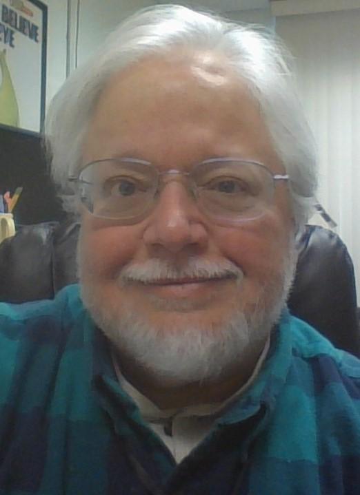 photo of library director Bob Barringer