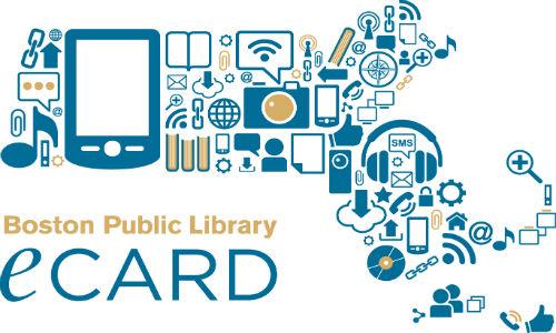 Boston Public Library eCard graphic