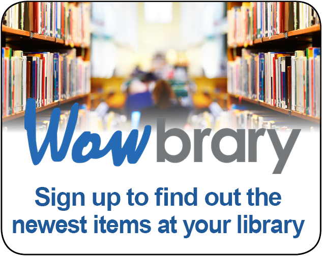 Wowbrary logo - click to signup for newsletter