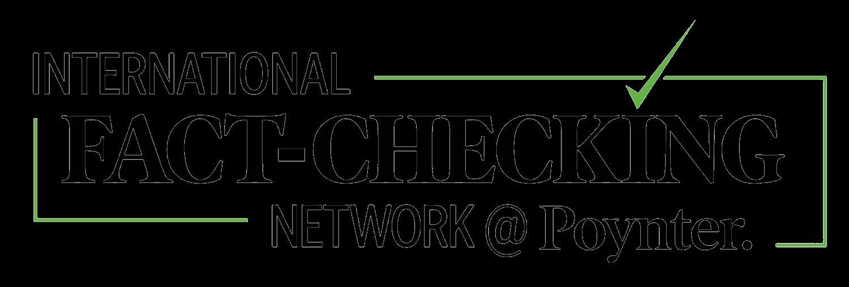 International Fact-Checking Network's logo. Image links to the International Fact-Checking Network's website.