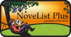 Novelist Plus logo. Image links to Novelist Plus website.