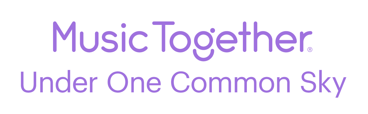 Music Together! logo with statement that says Under One Common Sky.