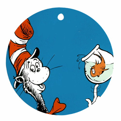 Picture of the Cat in the Hat by Dr. Seuss.
