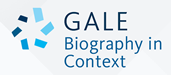 Gale Biography in Context logo