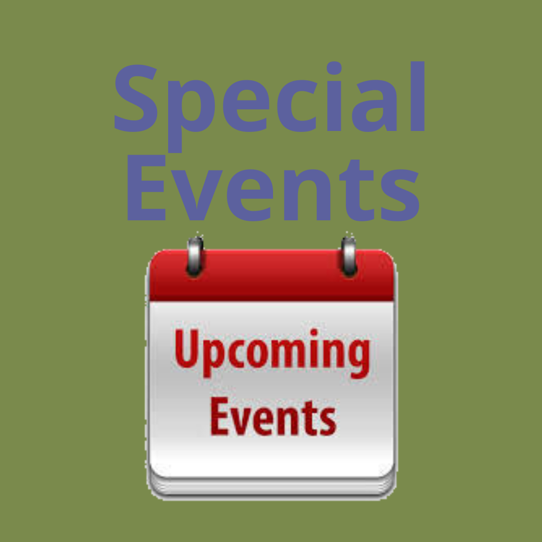 Click to see latest special events