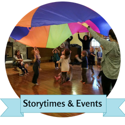 storytimes and events