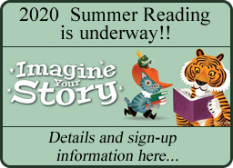 Summer Reading Program Information found here...