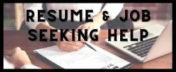 Resume and Job Seeking Help