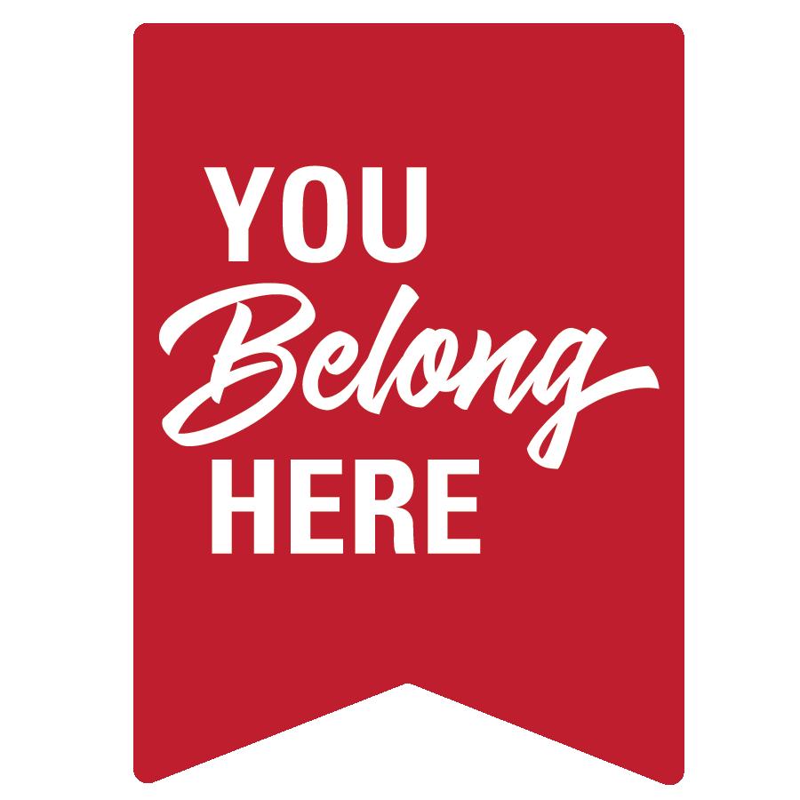You Belong Here logo