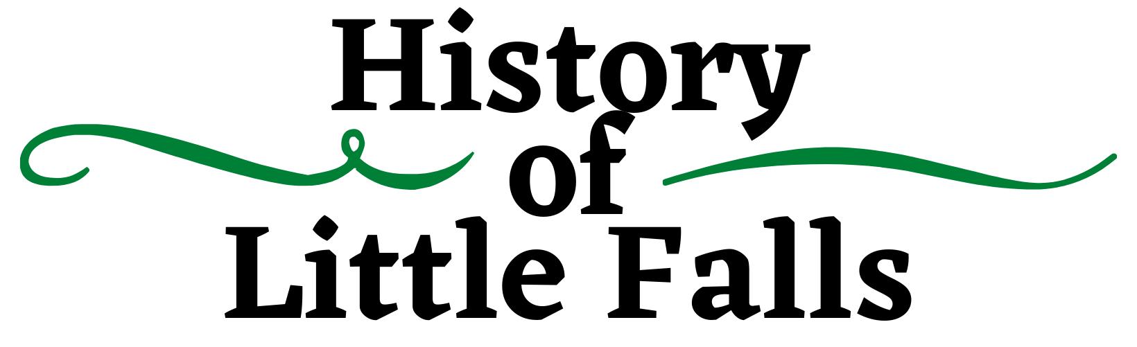 History of Little Falls banner