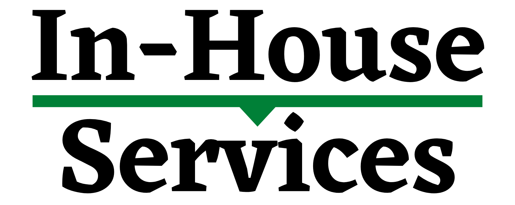 In House Services banner