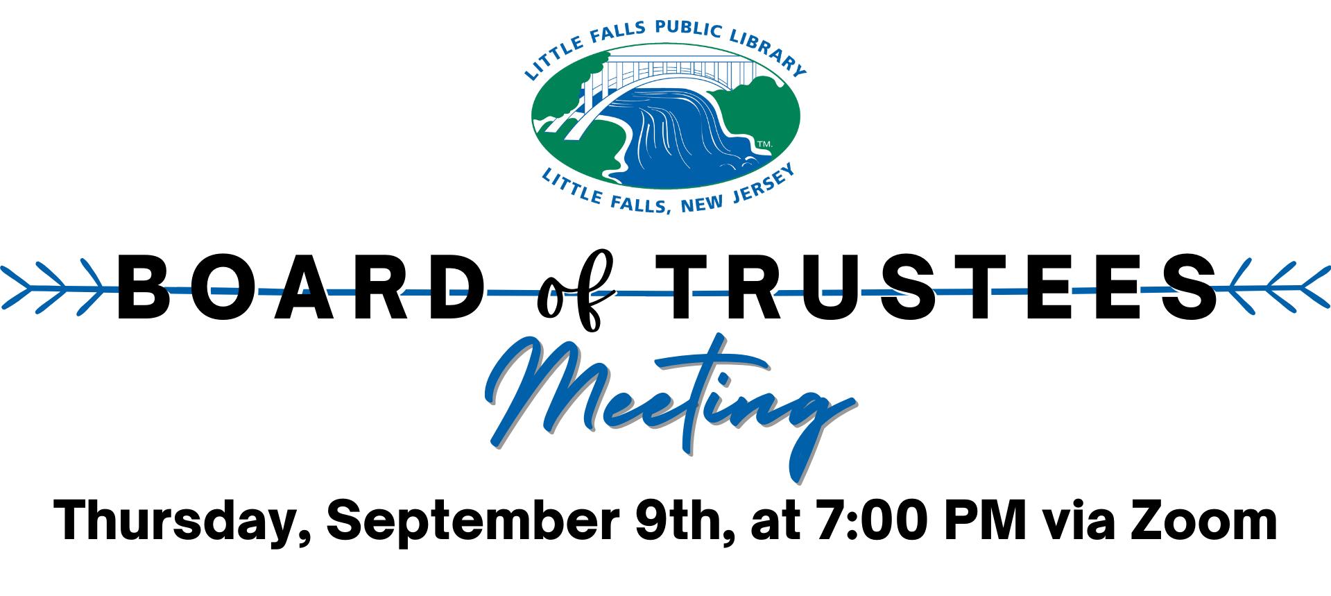 Board of Trustees board meeting link