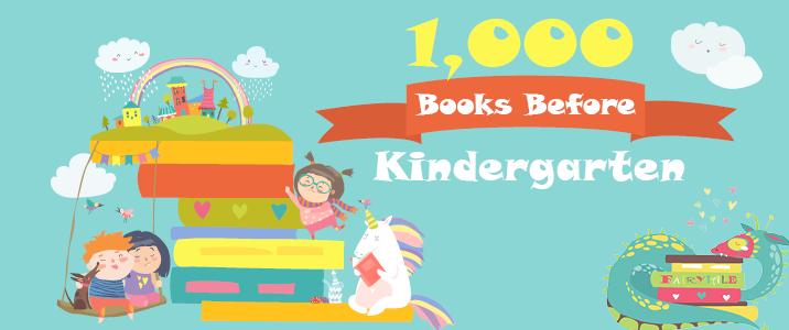 1000 Books before Kindergarten Banner