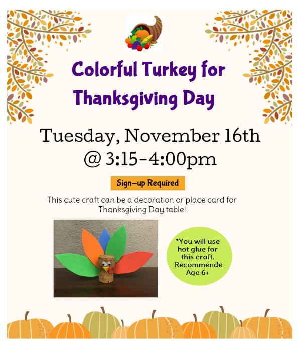 Thanksgiving Day Craft