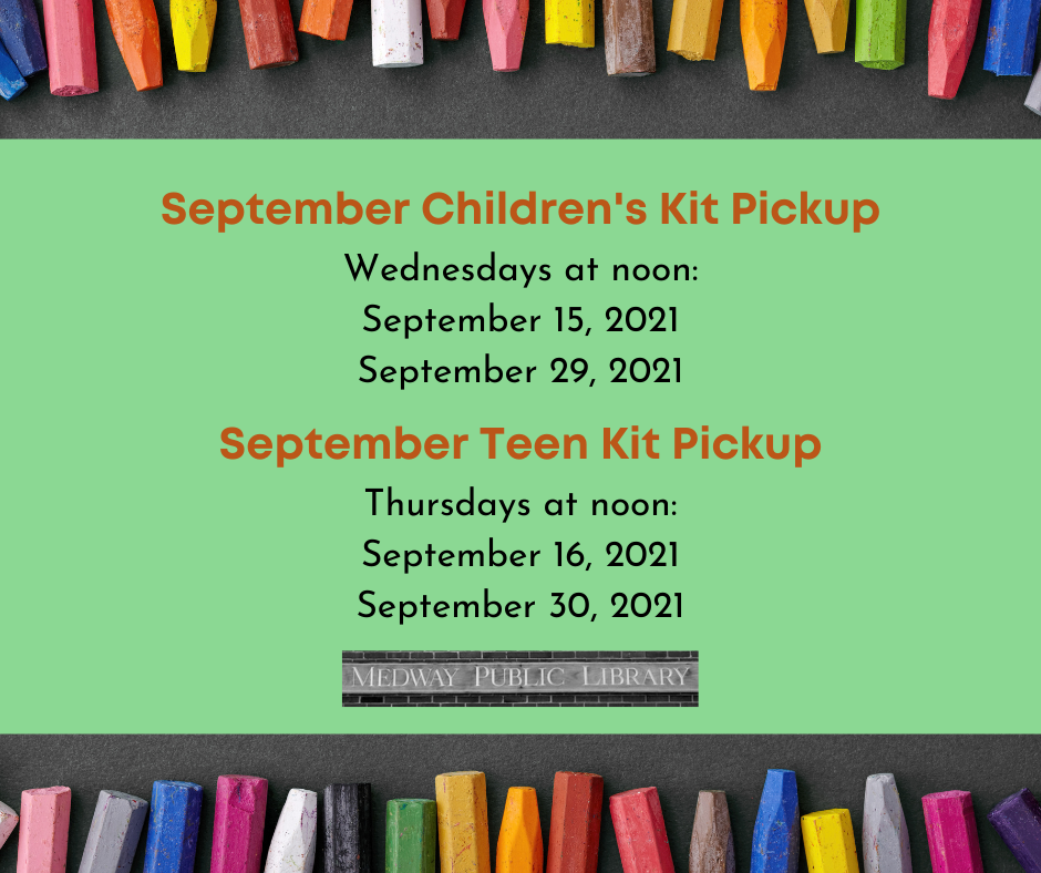 Kit schedule 9/21 call 5085333217