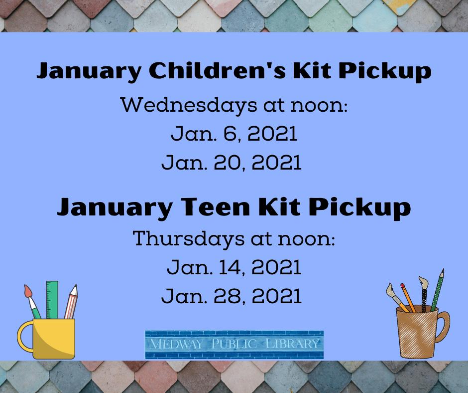 Kit schedule