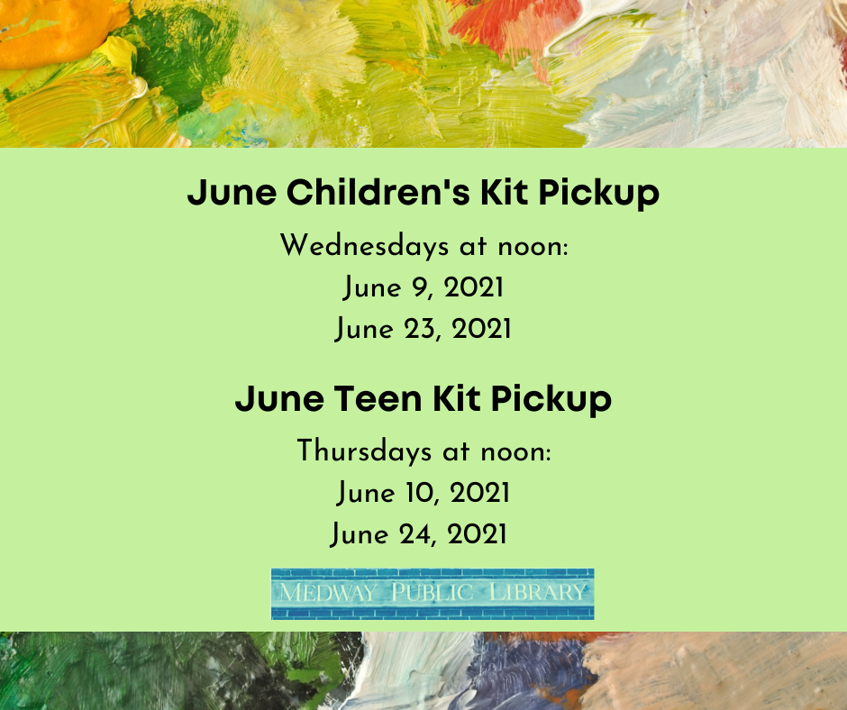 Kit schedule 6/21 call 5085333217