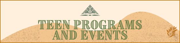 Teen Programs Banner
