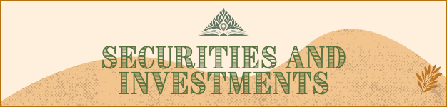 Securities and Investments Banner