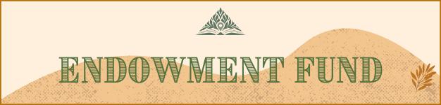 Endowment Fund Banner