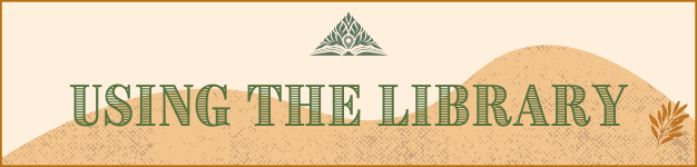 Using the Library Banner
