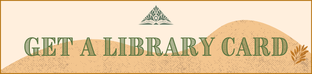 Get a Library Card Banner