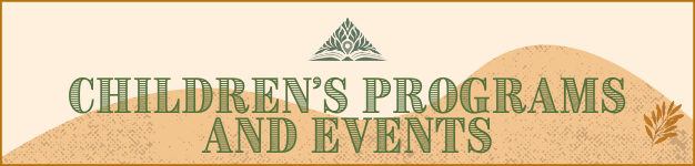 Children's Programs Banner