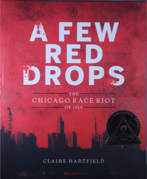 A few red drops book cover