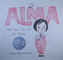 book cover: Alma and How She Got Her Name