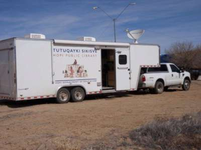 Hopi Bookmobile image