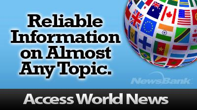 logo for access world news
