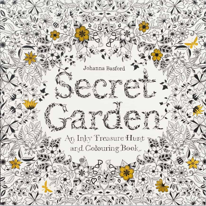 secret garden coloring