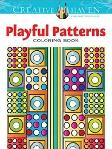 coloring book - playful patterns